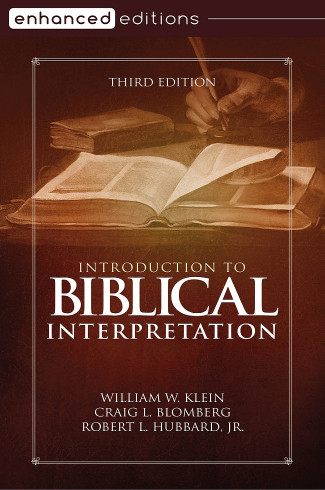 Introduction to Biblical Interpretation, 3rd Edition